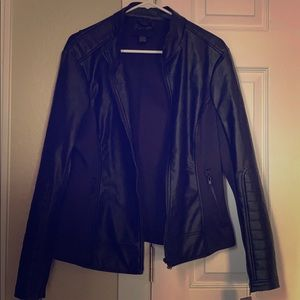 RD Style Faux Leather Jacket - NWT, Sz XL